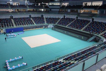 Зал художественной гимнастики в Баку
