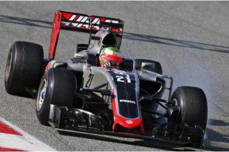 У команды Хаас возникли проблемы во время тестов в Барселоне