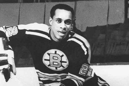 Вилли О'Ри – первый профессиональный чернокожий хоккеист
