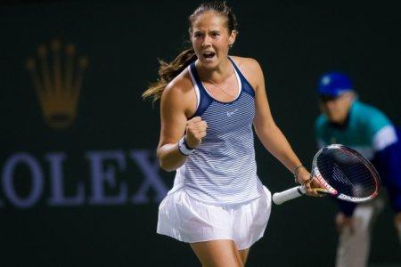 Касаткина стала четвертьфиналисткой на турнире в Индиан-Уэллсе
