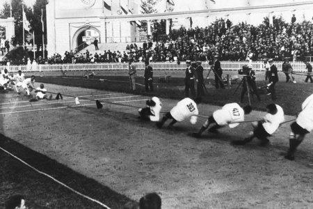 Перетягивание каната – Олимпийский вид спорта