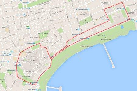 Самой скоростной среди всех городских гонок Формулы 1 станет трасса в Баку