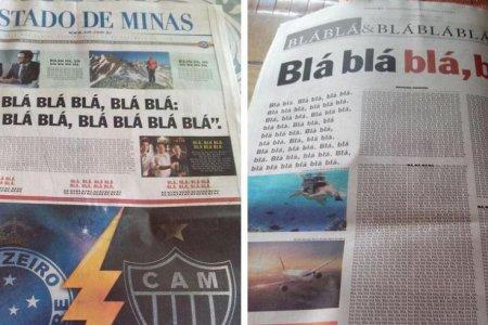 Почему появилась газета, в которой кроме слов было «blá blá blá»?