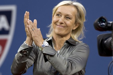 Навратилова уверена, что любому теннисисту нужен наставник
