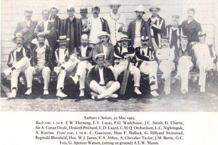 Команда литераторов в крикет, которая называлась Аллахакбарриз